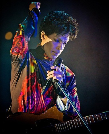 Prince played in Chicago last fall.