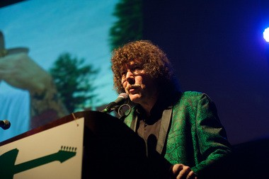 Terry Currier at the Oregon Music Hall of Fame induction concert, Oct. 5, 2013