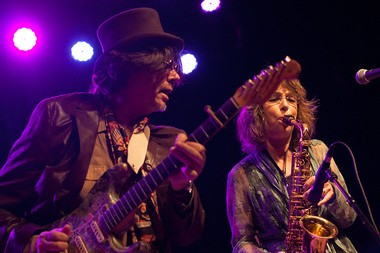 Marv and Rindy Ross of Quarterflash, Oct. 5, 2013