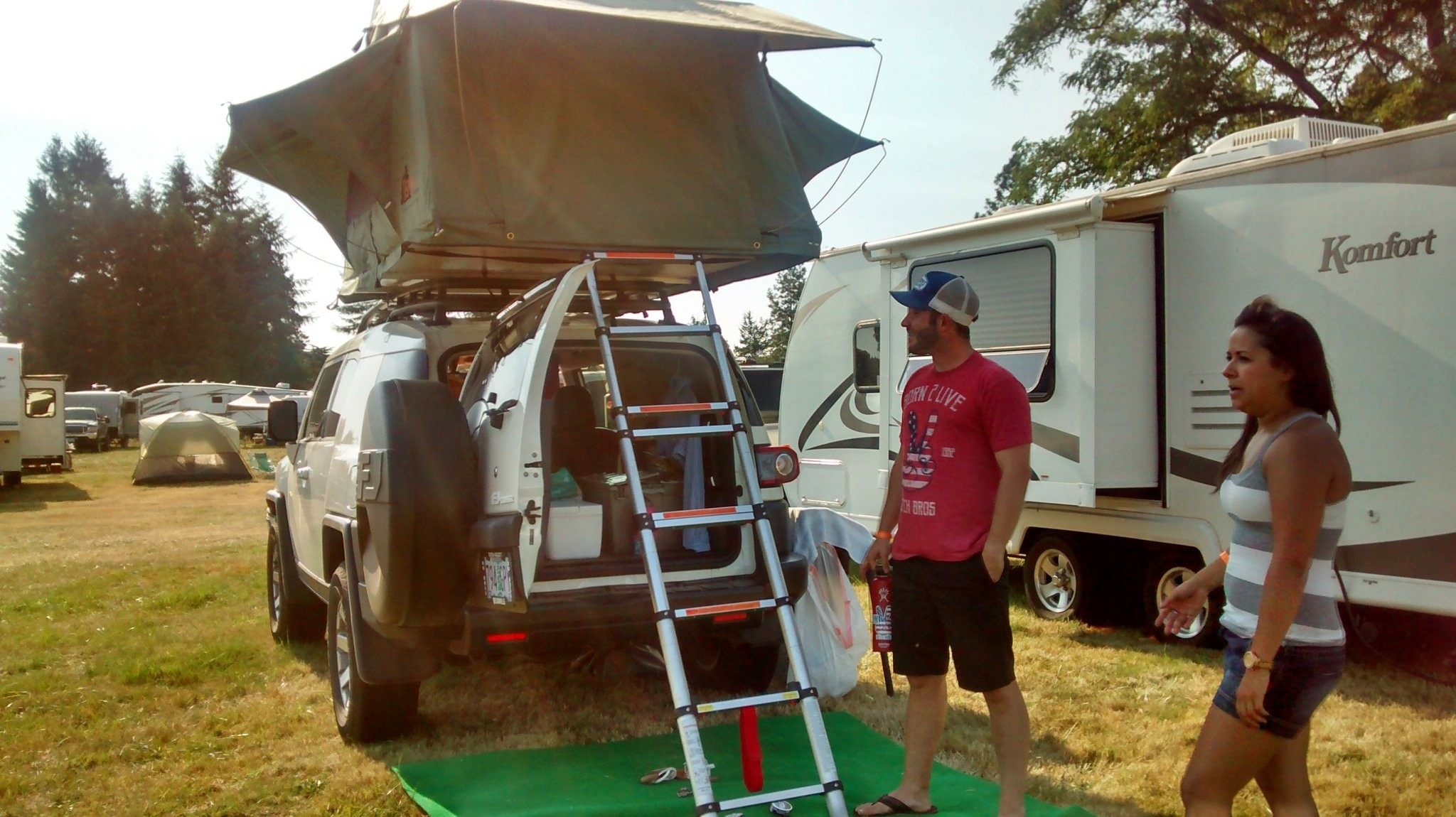 Campsites at the Oregon Jamboree are as quirky and creative ...