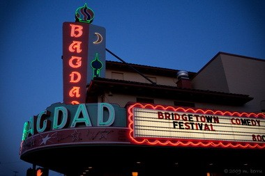 The Bridgetown Comedy Festival again brings laughs to several Southeast Hawthorne Boulevard venues, including the Bagdad Theater.