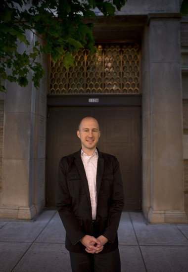 Jason Moore's day job is raising money for the Oregon Symphony. But his passion is researching and writing about music, architecture and more for Wikipedia. He has started 1,300 articles and made contributions to 58,000 projects.