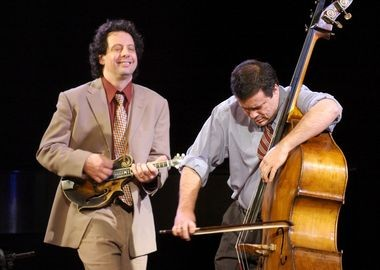 Mike Marshall and Edgar Meyer take listeners to the heart of American music, July 3 and 4-6, at Chamber Music Northwest, 2014.