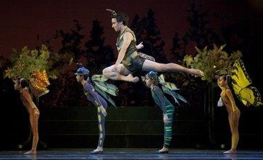 """Javier Ubell was featured in 2010 when Oregon Ballet Theatre last presented Christopher Stowell's version of """"A Midsummer Night's Dream."""" The piece returns in the fall as part of a tribute to Stowell, who resigned as artistic director."""