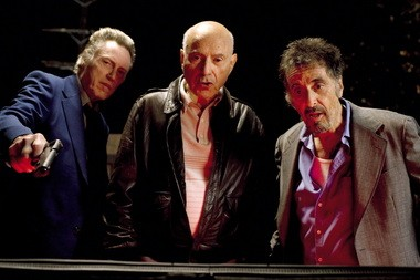 "In ""Stand Up Guys,"" Christopher Walken, Alan Arkin and Al Pacino star as old friends and con men who join forces one last time."