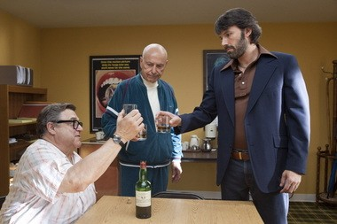 "John Goodman, left, Alan Arkin, center, and actor-director Ben Affleck in ""Argo,"" the winner of best picture at the Oscars."
