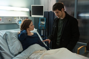 "As ""Grimm"" nears the end of Season 2, Juliette (Bitsie Tulloch) and Nick (David Giuntoli) will be patching things up, says Giuntoli."