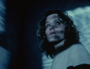 "Frances McDormand in ""Blood Simple."""
