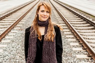 "Lynn Shelton, the director of ""Touchy Feely"""