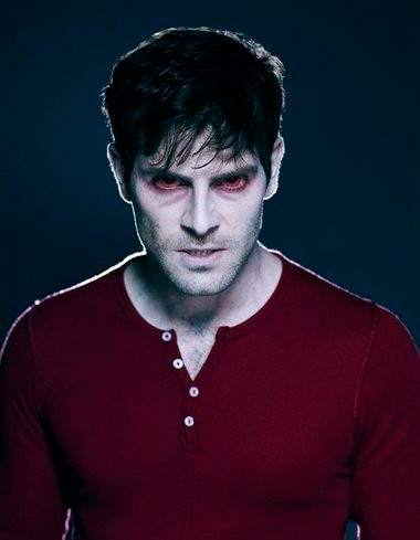 """No, this isn't """"Grimm"""" star David Giuntoli fuming about losing a round on """"Hollywood Game Night."""" He's in zombie makeup for the upcoming Season 3 of the filmed-in-Portland NBC drama."""
