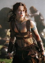 """The real Keira in """"King Arthur"""""""