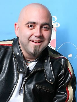"Duff Goldman of the Food Network show, ""Ace of Cakes."""