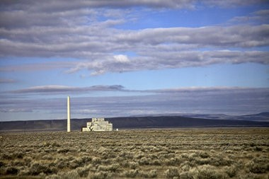 Hanford's B Reactor, the world's first at full-scale, was built during World War II to produce plutonium for nuclear bombs.