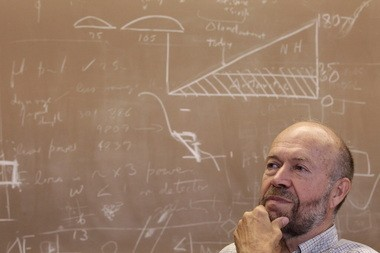 James Hansen left NASA earlier this month to devote his time to stopping global warming.