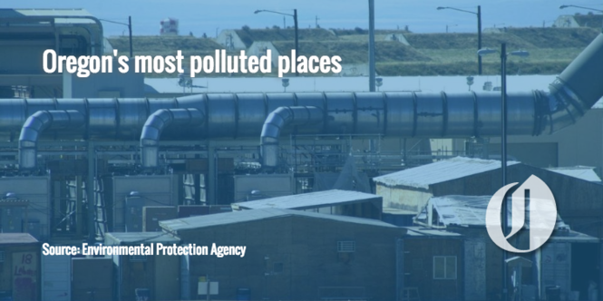 19 of Oregon's most polluted places - oregonlive com