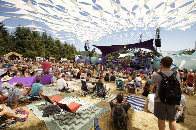Lovers of music and good times flock to Pendarvis Farm in Happy Valley for Pickathon, one laid-back music festival, Aug. 5, 2016.