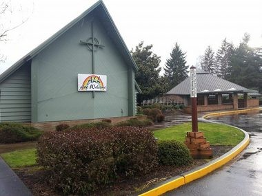 Southminster Presbyterian is located at 12250 SW Denney Rd in Beaverton.