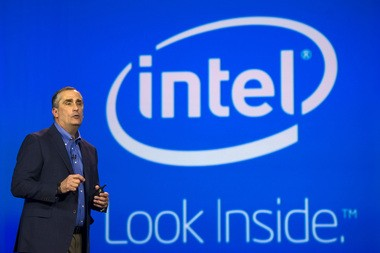 Brian Krzanich, chief executive officer of Intel Corp., speaks at the 2014 Consumer Electronics Show (CES) in Las Vegas.