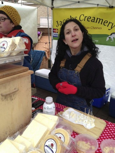 Lisa Jacobs turned from studying law to studying cheesemaking and now sells her Jacobs Creamery products at local stores and farmers markets.