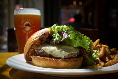 For Father's Day, Dad deserves something a little out of the ordinary -- like Deschutes Brewery Public House's elk burger. If you prefer beef, check our other recipe links.