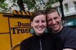 Julia Filip and Reid Barrett, co-owners of Portland's The Dump Truck food cart.