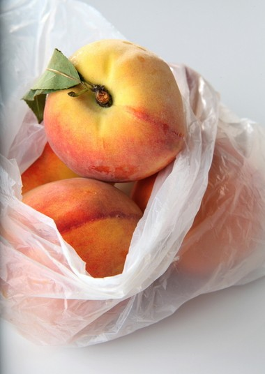 Peaches and other stone fruits contain a prize: The pits can be used to give recipes a subtle almond flavor.