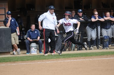 Pacific freshman and Forest Grove graduate Marissa Reichard is second in the Northwest Conference in stolen bases.
