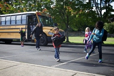 Students who attend Gaston schools but live in Forest Grove can take the bus to and from class. The Forest Grove district is currently analyzing transfer data to see why students might choose to attend school elsewhere.