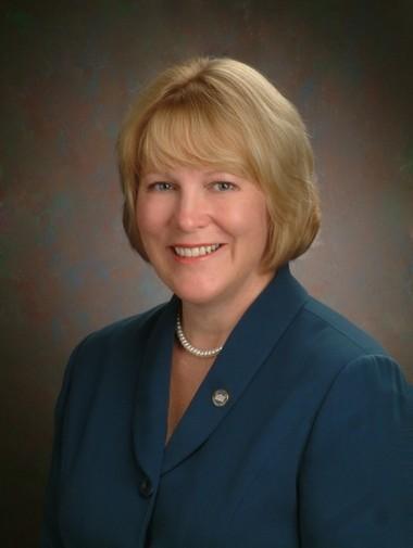 Debra Derr, president of North Iowa Community College.