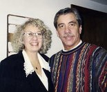 Pastor Mike Sperou and Judy Martin, 1995.
