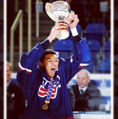 It was a huge moment for Seth Jones when he and his teammates took the prestigious World U-18 title and the World Juniors championship the following year