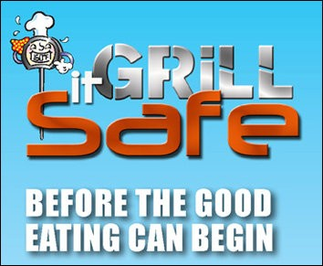 Cooks can download a Grill it Safe card with food safety tips for barbecues from the U.S. Department of Agriculture.