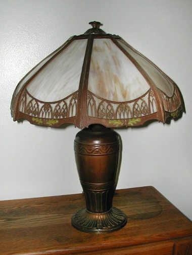 Family treasures, finds and mysteries lamp.