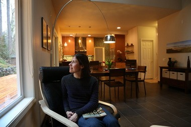 Lucy Roark loves the transformed space in her home in the Bonny Slope area.