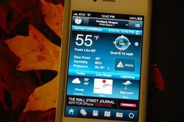 The Oregonian's weather writer's favorite apps - oregonlive com