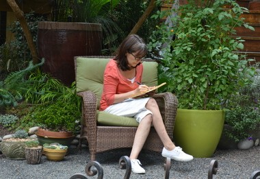 A number of garden trends provide a nice environment to work in for Marcia Westcott Peck.