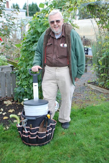 Jerry Anderson, a long-time OSU Extension master gardener, teaches people how to meet challenges when gardening.