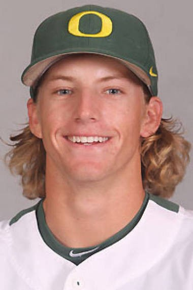 Former Oregon closer Jimmie Sherfy, a 10th-round draft pick by the Arizona Diamondbacks, officially became a member of the Hillsboro Hops on Saturday.