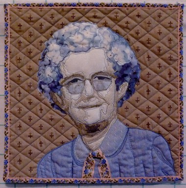 "Jean Lasswell's ""ay Flowers"" is a tribute to her grandmother Lillian ""May"" Love, who sewed Lasswell's childhood dresses. ""May Flowers"" will be on display at the Westside Quilters Guild's show on Saturday and Sunday."