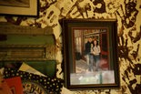 A photo of Kristen Stewart outside Black Iron Grill decorates the restaurant's wall. Part of the movie 'Twilight' was filmed in Vernonia.