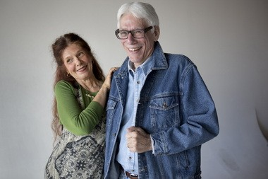 Long divorced but still friends, Maureen Sherpa and Lester Lamm help their daughter with her Elevation Trade business.