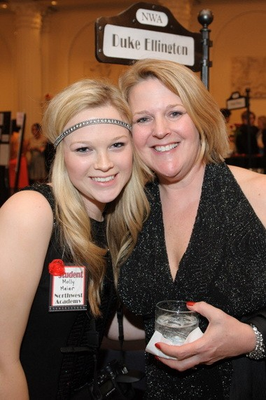 Molly Meier, class of 2015; and Betsy Meier, event chairwoman.