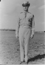 Rex Barber shortly after he received the Navy Cross for his part in the mission that killed Yamamoto. Â
