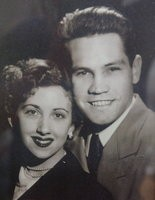 Dona and Bobbie Robinson on their first anniversary, one of many the couple have celebrated.