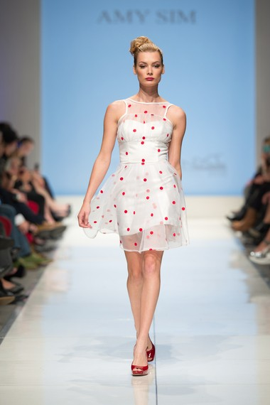 A winning look from Amy Sims collection