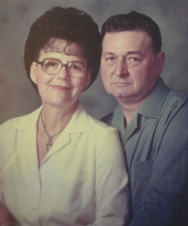 Wilma and Vic Morgan around 1974.