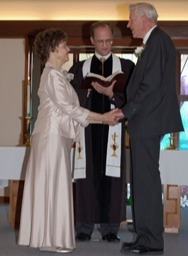 Charlotte and Bud Robinson were married in 2007.