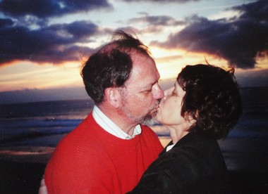After three years of communicating by letters and telephone, Jack and Marybeth Longbine were married in Hawaii.