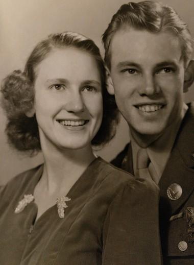 Barbara and Gene Malsey were married June 16, 1946, in Portland.