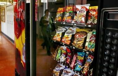 An Oregon House bill would have prohibited vending machines in public buildings from offering certain high-calorie snacks or beverages.